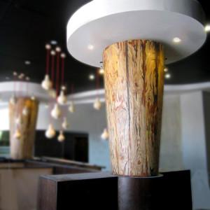 column in situ