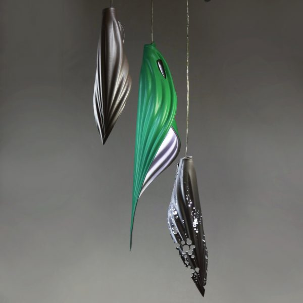 blade silver & green:silver cluster copy